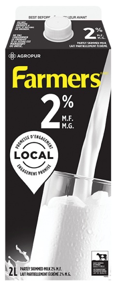 Farmers 2% White Milk