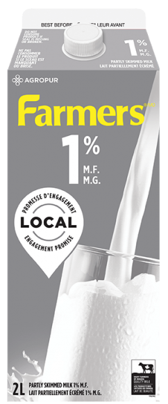 Farmers 1% White Milk