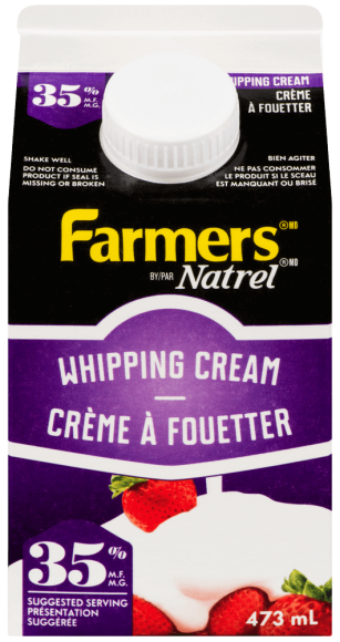 Farmers 35% Whipping Cream
