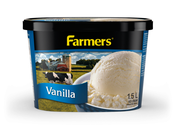 Farmers Vanilla Ice Cream