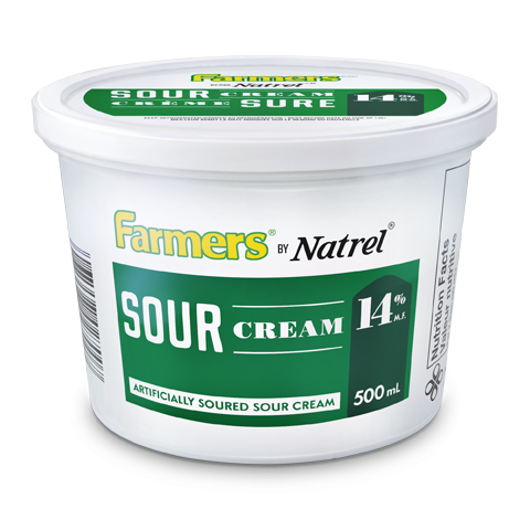 Farmers by Natrel Regular Sour Cream 14%