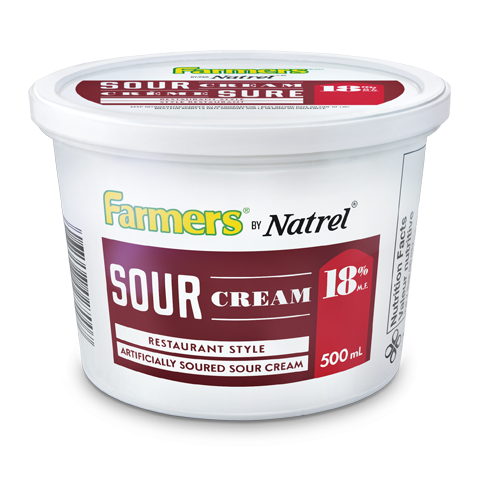 Farmers by Natrel Restaurant Style Sour Cream 18%