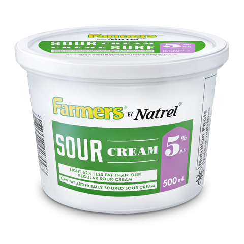 Farmers by Natrel Light Sour Cream 5%