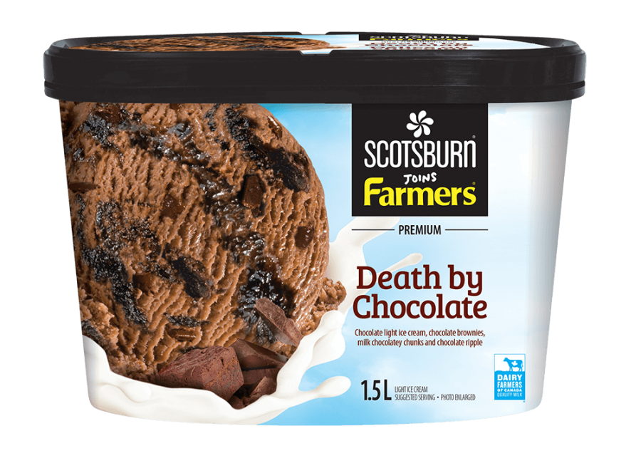 Death by Chocolate Scotsburn joins Farmers Ice Cream