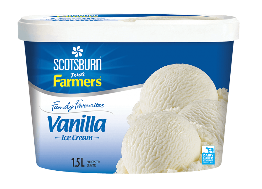 Vanilla Scotsburn joins Farmers Ice Cream