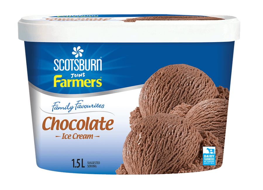 Chocolate Family Scotsburn joins Farmers Ice Cream