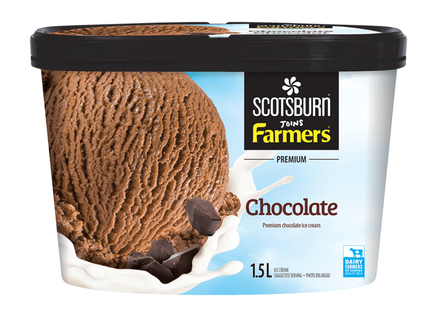 Chocolate Scotsburn joins Farmers Ice Cream