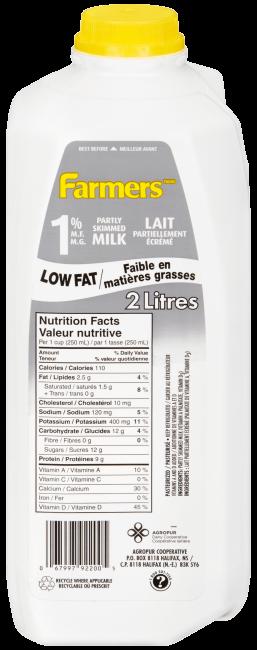 1 Milk Farmers Dairy