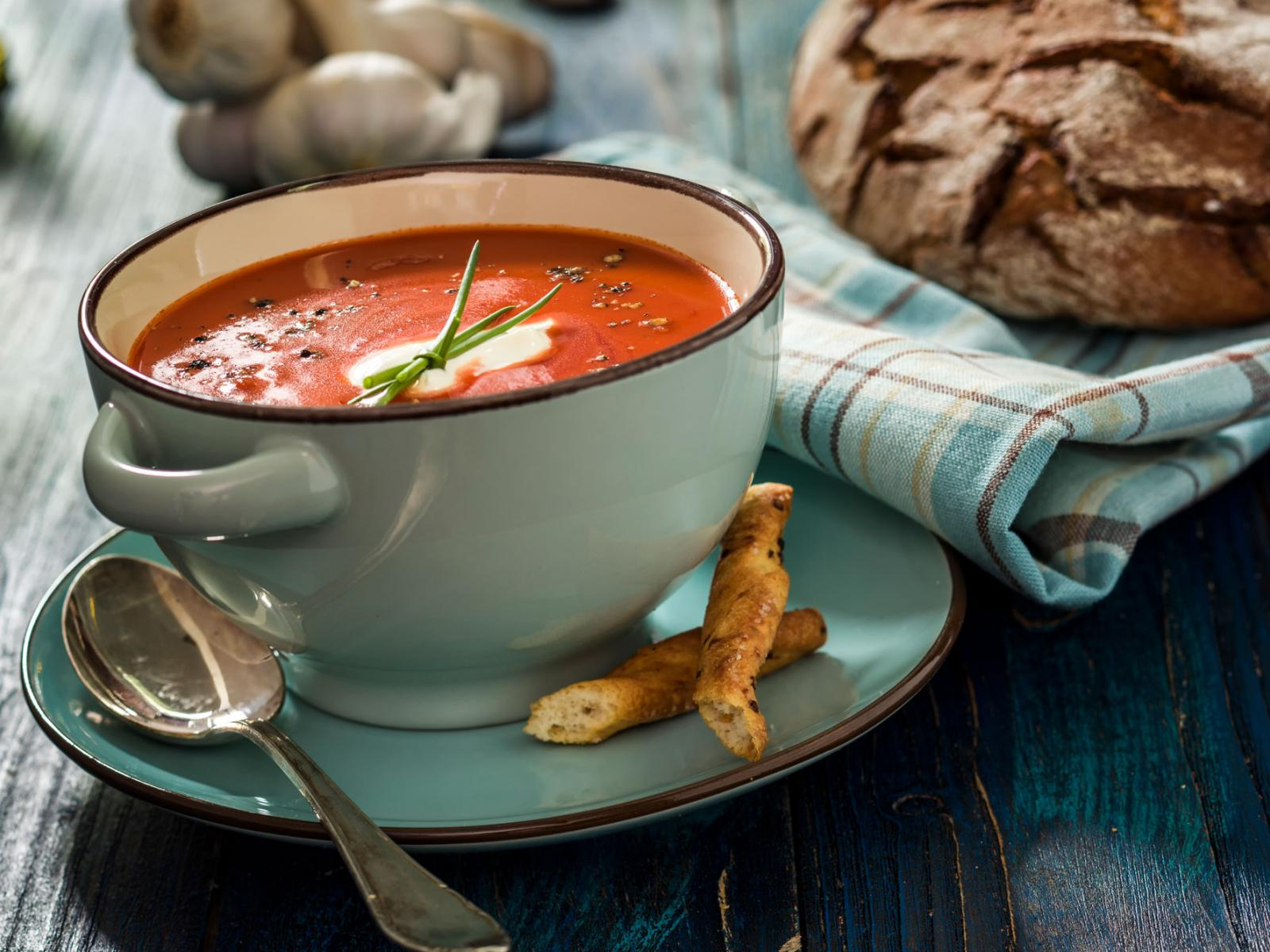 Fort William Herbed Tomato Bisque Recipe