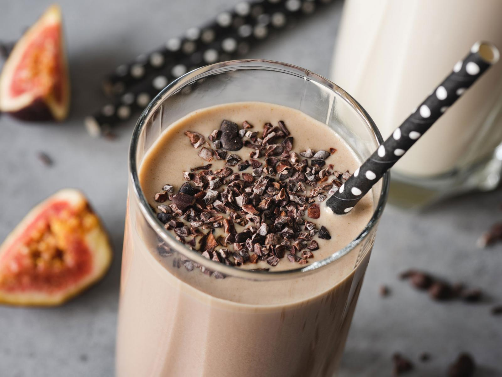 Farmers Low-Fat 1% Chocolate Milk Smoothie Recipe