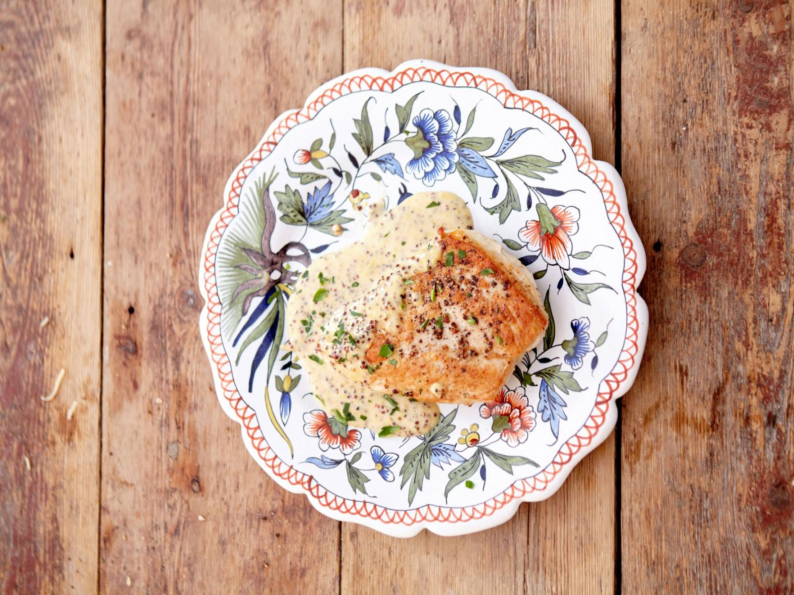 Mustard Tarragon Chicken Recipe
