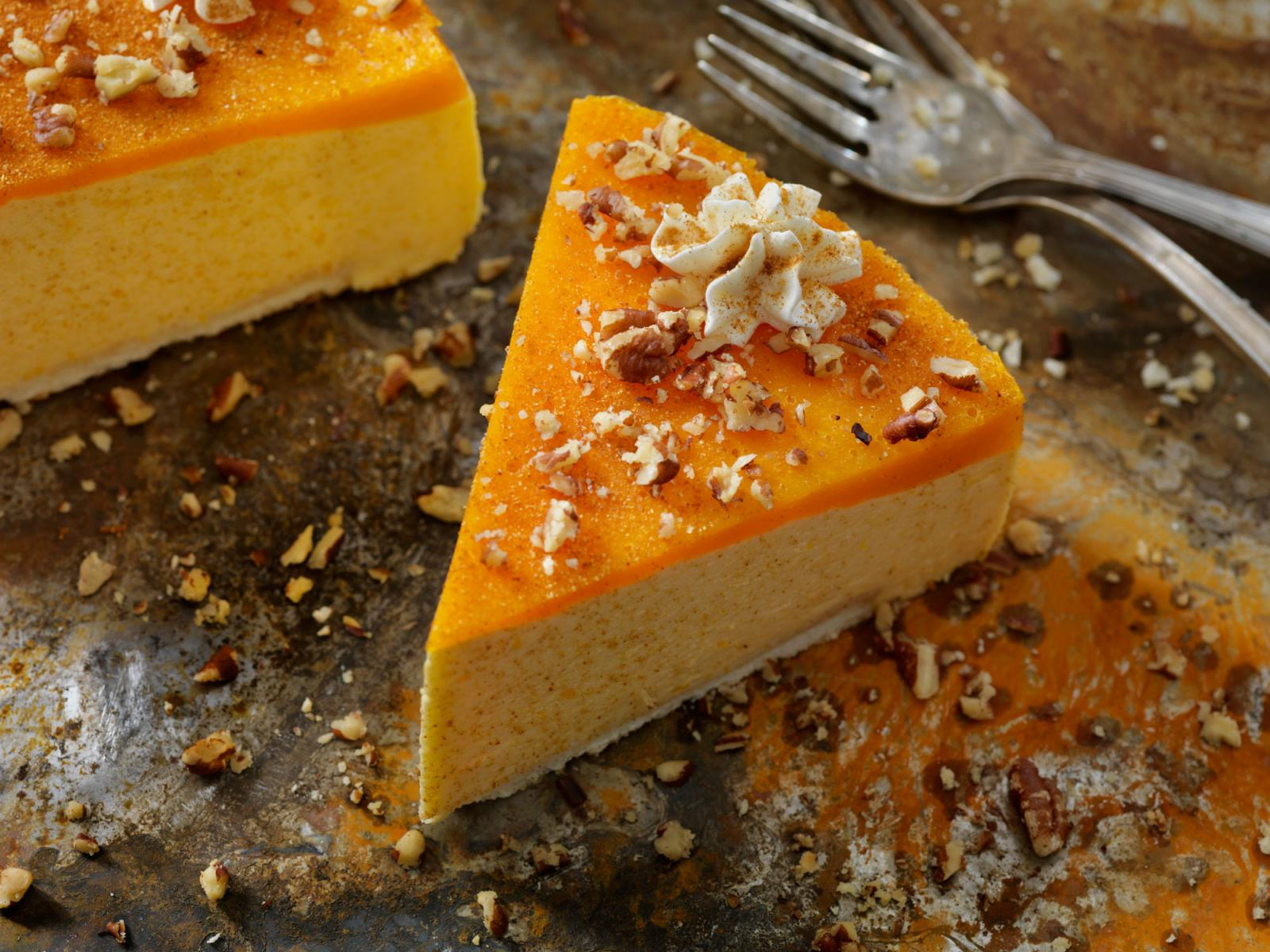 Pumpkin Cheese Cake Recipe