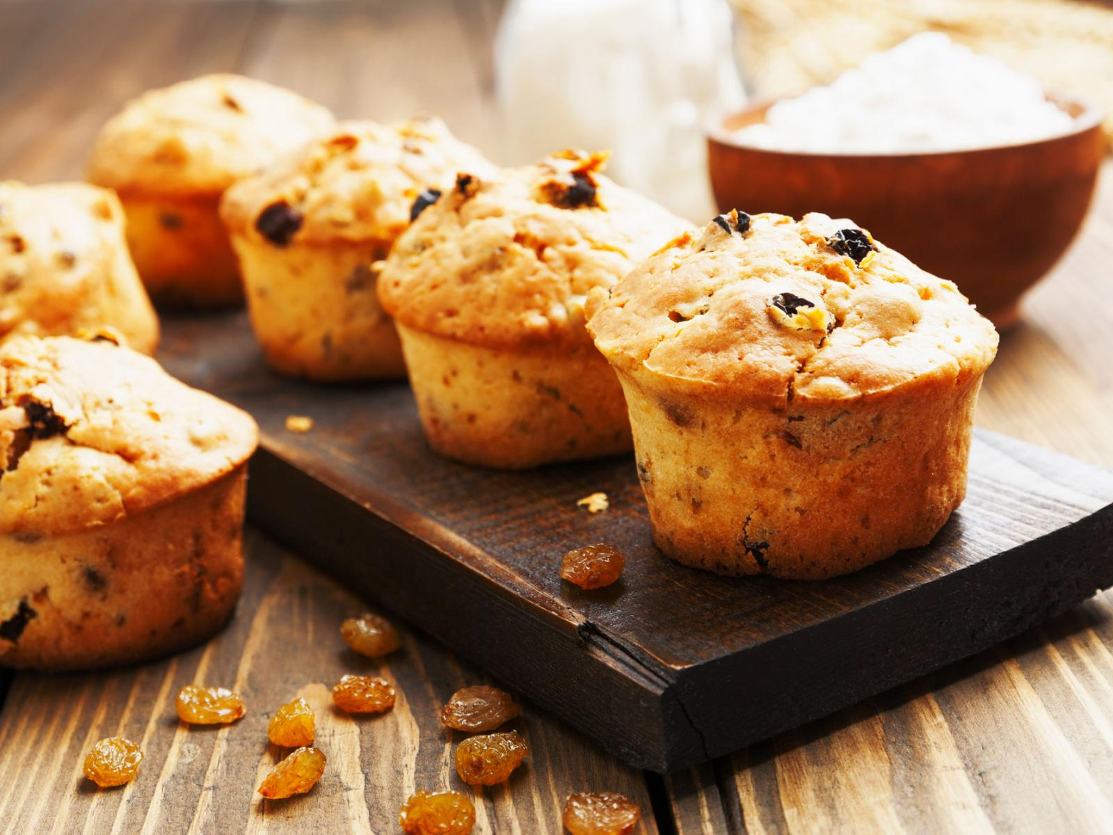 Jacqueline's Egg Nog Muffins Recipe